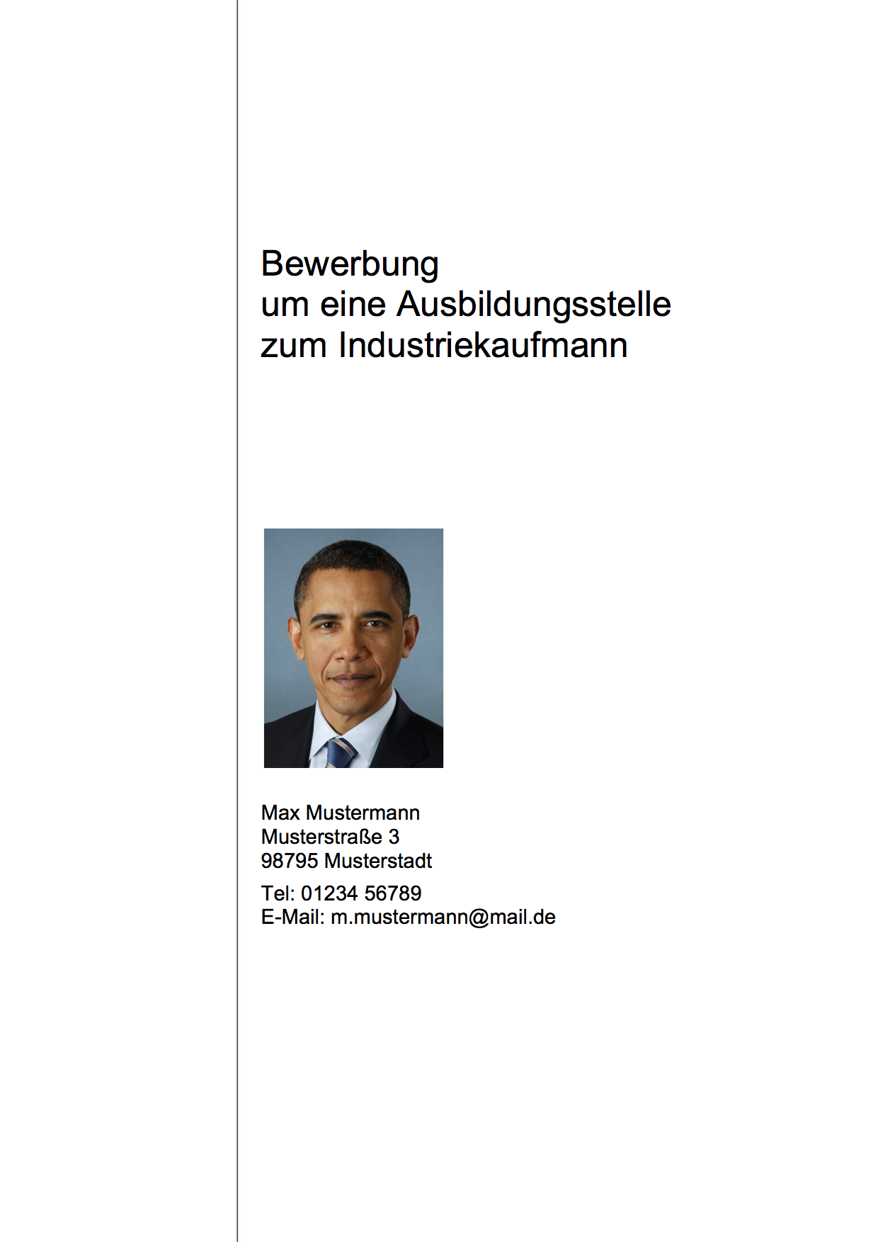 Charmant Aufsatz Deckblatt Vorlage Bilder - Beispiel Business ...